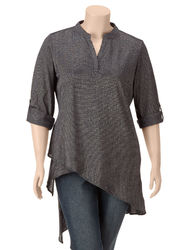 3/4 SLV LUREX TUNIC TOP:6