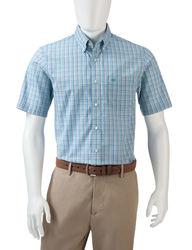 Dockers Men's Baltic Woven Shirt - Light Blue - Size: Medium