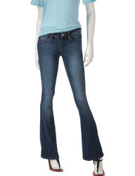 YMI Women's Bootcut Jeans - Dark Blue - Size: 11