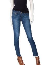 Jolt Women's Rinse Wash Skinny Ankle Jeans - Dark Blue - Size: 9