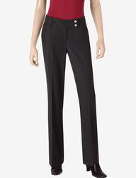Valerie Stevens Women's Madison Trouser Pants - Black - Size: 14