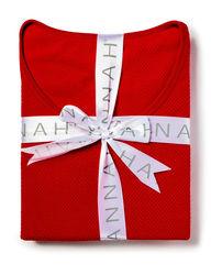 Hannah Women's 2-pc. Plaid Thermal Pajama Set - Navy Multi - Medium