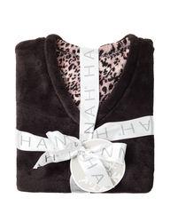 Hannah Women 2-pc. Folded Pajama Set - Animal Print -Size: XL