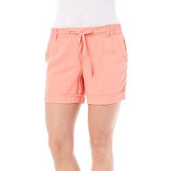 Gloria Vanderbilt Women's Molly Soft Shorts - Coral Nector - Size: 6