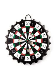 Wembley Bottle Cap Magnetic Dart Game - Black