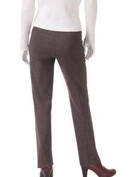 Briggs New York Men's Plaid Millenium Pants - Grey - Size: 12P