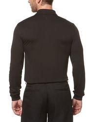 PGA Tour Men's Solid Color Airflux Polo T-Shirt - Iron Gate - Size: XLT