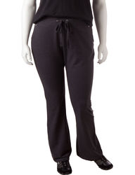Silverwear Women's Solid Color Grey Tempo Pant - Charcoal - 1X