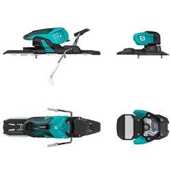 Salomon Warden 11 Ski Bindings 2017 - Torqoise-Black Size: 90mm