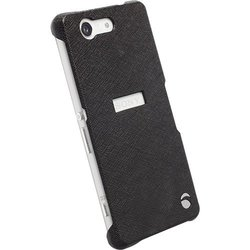Krusell Malmo Texture Cover Case for Xperia Z3 Compact - Black
