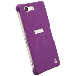 Krusell Malmo Texture Cover for Xperia Z3 - Purple (KSE-90000_SONY)
