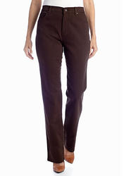 Women's Gloria Vanderbilt Amanda Classic Tapered Jeans Dark Roast