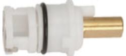 """DDI Economy Hot/Cold Faucet Cartridge 12 Pkg - Size: 1-15/16"""" Length"""