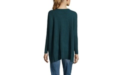 Subtle Luxury Women's Cashmere Loose Easy Crew Sweater - Huntr - Size: M/L