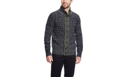 Slate & Stone Men's Dalton Sweater - Navy - Size: L