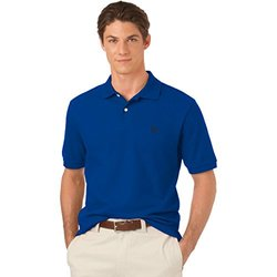 Chaps Men's Short Sleeve Solid Polo Shirt - Pacific Tide - Size: XXL