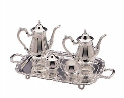 Elegance Silver 8918 Ashley Collection Coffee Set - 5 Piece
