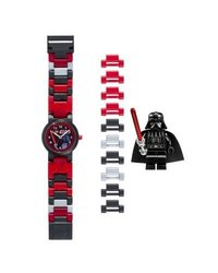 Kid's Star Wars Plastic Watch With Bracelet And Minifigure - Darth Vader