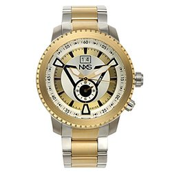 NXS Colby Men's Watch - Silver/Gold