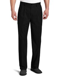 Dockers Men's Easy Khaki D3 Classic Fit Pleated Pant - Black - Size: 36x30