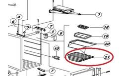 Norcold Refrigerator Shelf (523003500)
