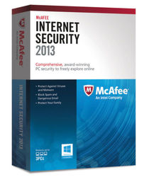 McAfee Internet Security 2013 Subscription Package Series