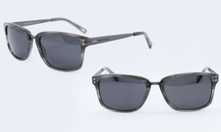 Tommy Bahama Polarized Grey Horn Sunglasses