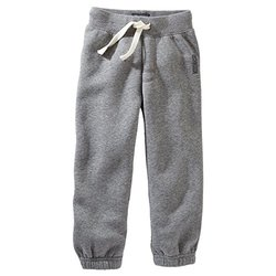 Carter's Fleece Athletic Pants - Heather - Size: 6