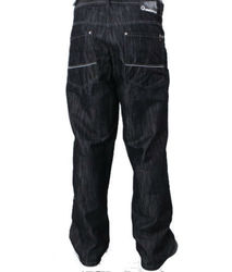 Southpole Men's Dark Wash Straight Jeans - Rinse Black - Size: 42 X 34