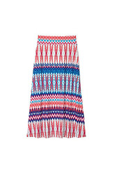 Amy Byer Girl's Maxi Print Skirt - Multi - Size: Small