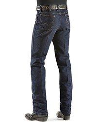 Wrangler Men's Silver Edition Jean - Dark Denim - Size: 36x34