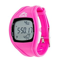 Digital Activity Watch w/ Pedometer: RBXPD002PK Pink Band