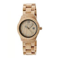 Earth Wood Men's Watches Pith Collection: EW1801 - Khaki/Tan