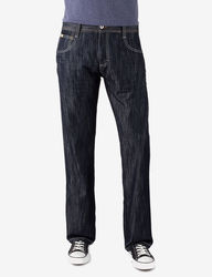 Southpole Relaxed Fit Jeans - Rinse Indigo - Size: 34 X 30
