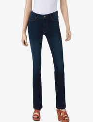 Signature Studio Women's Denim Stretch Jeggings - Medium Blue - Size: 8