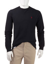 U.S. Polo Assn. Men's Solid Color Thermal Shirt - Light Grey - Size: XXL