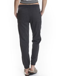 Unionbay Women's Carlita Sateen Jogger Casual Pants - Dark Grey - Size: S
