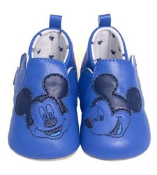 "Mayoral Boy's Newborn ""Disney Baby"" Moccasin Shoes - Blue - Size: 0-18m"