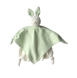 Under The Nile Kids Bunny Blanket Friend - Sage - Size: One