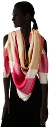 Collection XIIX Women's Brushed Plaid Square Runway Wrap - Mlt - Size: One