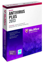 McAfee AntiVirus Plus 2013 Subscription Package Series