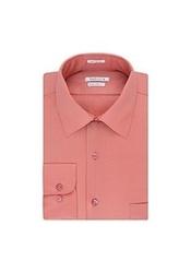 "Van Heusen Men's Lux Sateen Dress Shirt - Rose - Size: 5.5X32""-33"" Sleeve"