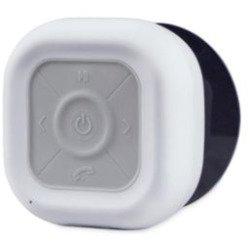 The Black Series Bluetooth Shower Radio - White White
