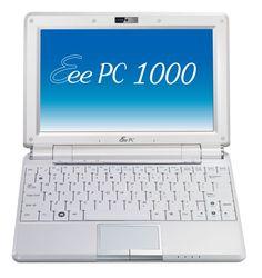 """Asus Eee PC 1000 10"""" Laptop 1.6GHz 1GB 40GB Linux (EEEPC1000-BK003)"""