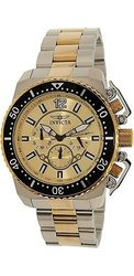 Invicta Men's Watches Pro Diver Collection: 21955/Gold-Tone Dial