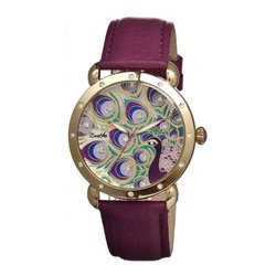 Bertha Genevieve Ladies Watch: Strap/br3805 - Purple Band/purple Dial