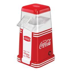 Nostalgia Coca Cola 8 Cup Hot Air Popcorn Maker