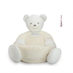 Kaloo Perle Plush Toys Maxi Sofa Bear - Cream