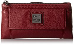 Relic Women's Bryce Checkbook Wallet, Baked Apple, One Size