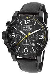 Invicta Men's Chronograph Watch: Invicta-20140syb Black Band-black Dial